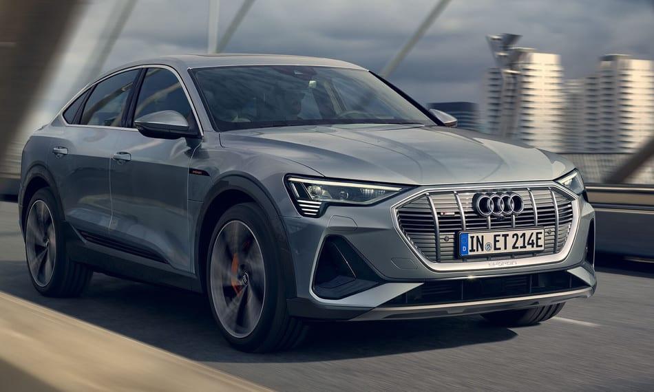 Audi e-tron - CARROS ELÉTRICOS E IPVA