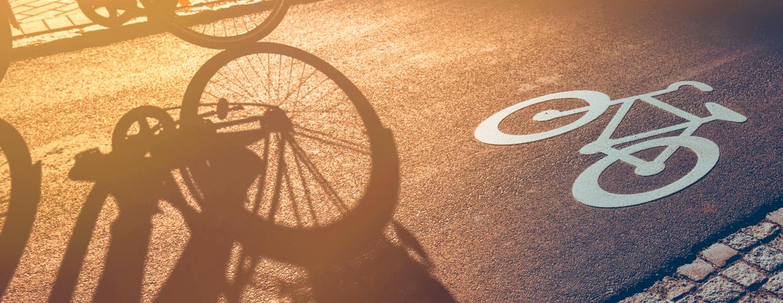 ciclovia e ciclofaixa