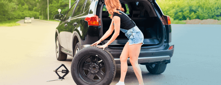 como trocar pneu